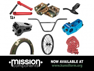 Mission BMX 2018 Parts - Now available!