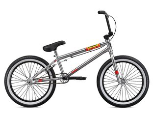 "Mongoose ""Legion L100"" 2019 BMX Bike - Nickle"
