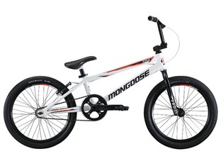 "Mongoose ""Title Elite Pro XL"" 2019 BMX Race Bike - White"
