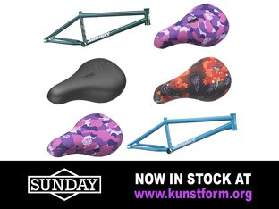 Sunday Bikes 2018 BMX Parts - In stock!