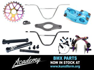 Academy BMX Parts - In stock!