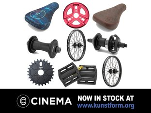Cinema BMX 2018 Parts - Auf Lager!