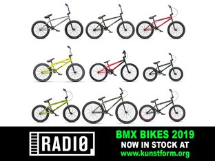 Radio Bikes 2019 BMX Bikes - In stock!
