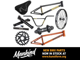 New Mankind 2019 BMX Parts - In stock!