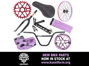 New Odyssey 2019 BMX Parts - In stock!