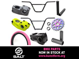 Salt 2018 BMX Parts - In stock!