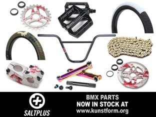 Salt Plus 2018 BMX Parts - In stock!