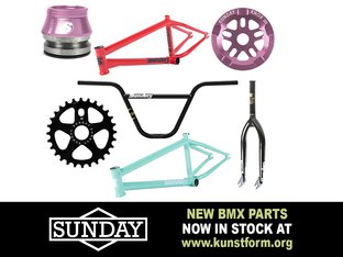 Sunday Bikes 2019 Parts & Frames - In stock!