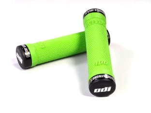 "ODI X Stay Strong ""Ruffian Flangeless"" Lock-On Grips"