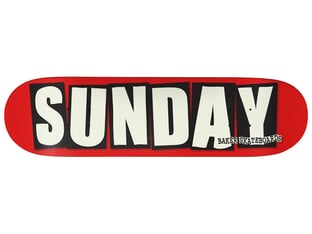 "Sunday Bikes ""Baker 8.25"" Skateboard Deck"