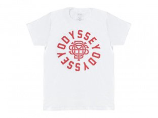 "Odyssey BMX ""Central"" T-Shirt - White/Red"