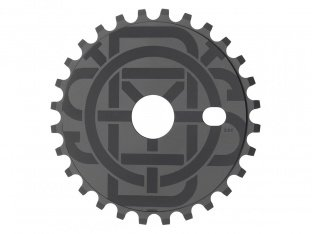 "Odyssey BMX ""Discogram Sticker"" Sprocket"