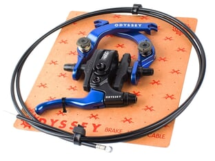 "Odyssey BMX ""EVO 2.5"" Brake + Lever + Cable Set"