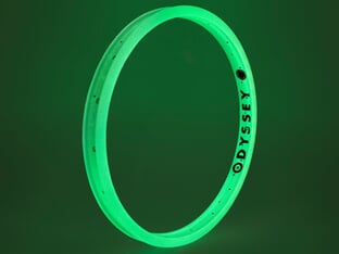 "Odyssey BMX ""Hazard Lite"" Rim - Glow In The Dark"