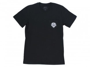"Odyssey BMX ""Monogram Pocket"" T-Shirt - Black"