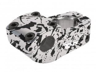 "Odyssey BMX ""Raft"" Topload Stem - Polish/Black Splatter"