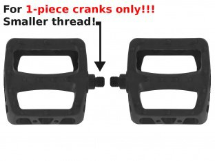 "Odyssey BMX ""Twisted PC"" Pedals - 1/2"" Axle"