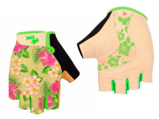 "Pedal Palms ""Aloha"" Short Finger Gloves"