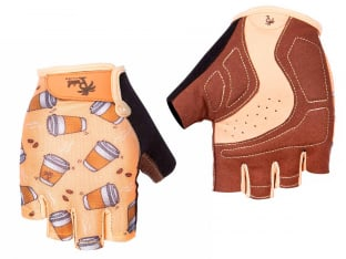 "Pedal Palms ""Cuppa"" Short Finger Gloves"