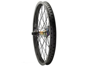 "Primo BMX ""VS X Re-Mix V2 Female""Cassette Rear Wheel - Black/Oil Slick"