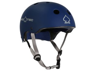 "ProTec ""Classic Certified"" Helm - Matte Blue"