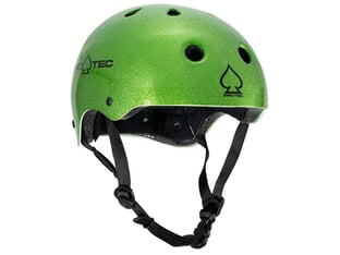 "ProTec ""Classic Certified"" Helm - Metallic Green"