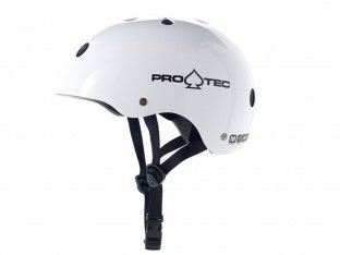 "ProTec ""Classic"" Helm - White"