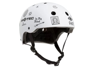 "ProTec X Cult ""Classic Certified"" Helm - Matte White"