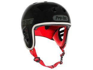 "ProTec ""Full Cut Certified"" Helm - Black"