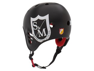"ProTec ""Full Cut Certified"" Helmet - S&M Matte Black"