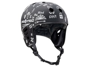 "ProTec X Cult ""Full Cut Certified"" Helmet - Matte Black"