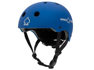 "ProTec ""Junior Classic Certified"" Helm - Matt Blue"