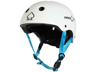 "ProTec ""Junior Classic Certified"" Helm - White"