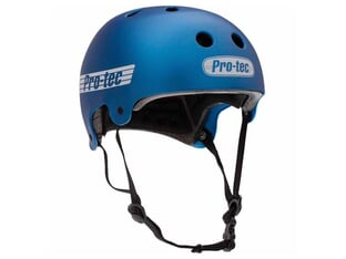 "ProTec ""Old School Certified"" Helmet - Metallic Blue"