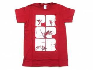 "Proper Bikes ""Birds"" T-Shirt - Red"