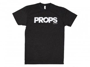 "Props ""Since 93"" T-Shirt - Acid Black"