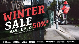 Winter BMX Sale