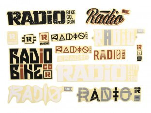 Radio Bikes Stickerset