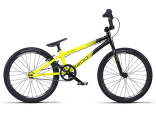 "Radio Bikes ""Cobalt Expert"" 2019 BMX Race Rad - Black/Neon Yellow"