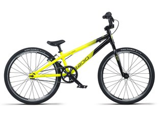 "Radio Bikes ""Cobalt Junior"" 2019 BMX Race Rad - Black/Neon Yellow"