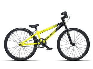 "Radio Bikes ""Cobalt Mini"" 2019 BMX Race Rad - Black/Neon Yellow"