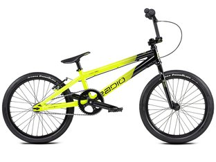"Radio Bikes ""Cobalt Pro"" 2020 BMX Race Bike - Black/Neon Yellow"