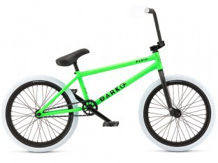 "Radio Bikes ""Darko"" 2017 BMX Rad - Matt Neon Green"