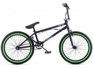"Radio Bikes ""Dice FS 20"" 2017 BMX Rad - Matt Black"