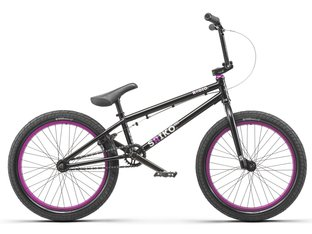 "Radio Bikes ""Saiko 20"" 2019 BMX Rad - Matt Black / Purple"