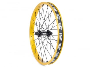 "Rant BMX ""Squad X Party On V2"" Front Wheel"