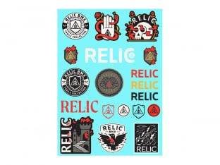 Relic BMX Stickerset