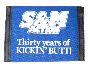 "S&M Bikes ""Action 30 Year"" Wallet"