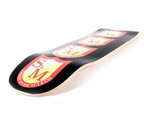 "S&M Bikes ""Big Shield"" Skateboard Deck"