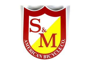 "S&M Bikes ""Big Shield"" Sticker"